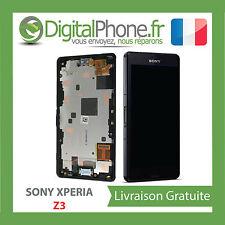 Écran complet chassis Sony Xperia Z3 noir D6603/D6616 100% Original