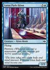 Lotus Path Djinn X4 EX/NM Fate Reforged MTG Magic Cards Blue Common