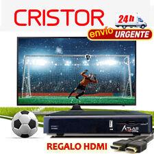 receptor cristor atlas hd200 se +REGALO CABLE HDMI + 24HMRW distribuidor oficial