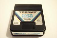 Master Builder Atari 2600 PAL Format Video Game Cart
