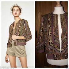 Zara Waist Length None Floral Coats & Jackets for Women