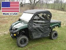 Yamaha Viking Full Cab Enclosure - Hard Windshield, Roof, Doors, Rear Window