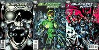 Blackest Night #1-3 (2009-2010) DC Comics - 3 Comics