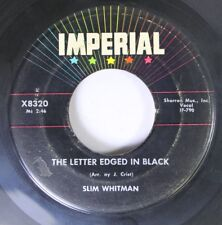 50'S/60'S 45 Slim Whitman - The Letter Edged In Black / I Never See Maggie Alone