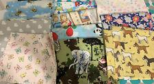Assorted Bundle Job Lot Of Cotton Fabric X 10 (K)