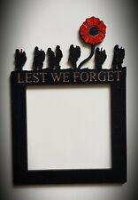 Light switch or socket surround.  bespoke gifts, home decor, Lest We Forget,