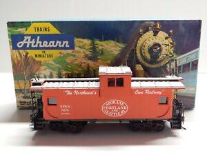 HO Scale - Athearn - Spokane, Portland & Seattle Wide Vision Caboose Train #905