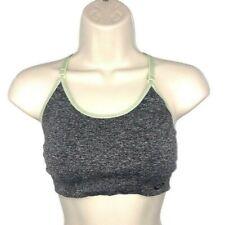 Champion M Medium Women's C9 Sports-Bra Low Impact Adjustable Straps Gray