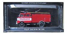 """DIE CAST """" TLF 16 IFA W 50 """" FIREFIGHTERS OF FIRE FIRE TRUCK SCALE 1/72"""
