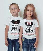 Going to Disney boys T -shirt /Disney world/Disneyland childrens t-shirt