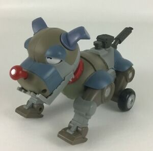 """Mini Wrex The Dawg Robot 7"""" Dog Toy w Movements and Sound Wowwee 2007"""