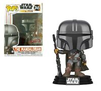 Funko POP! Star Wars The Mandalorian 345 Special Edition Chrome Head