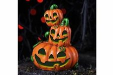 Miniature   Pumpkin Stack LED Lights Up Fairy Faerie Gnome Hobbit  Garden 17319