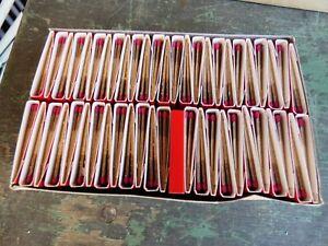 Objet quotidien Vintage Coffret de 50 Boites Allumettes SEITA 1980 Neuves Rouge