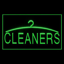190042 Cleaner Dry Cleaning Laundromat Display Led Light Neon Sign