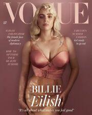 UK Vogue Magazine June 2021: BILLIE EILISH COVER FEATURE