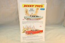 Dinky Toys Poster 192/180 De Soto /Packard Clipper in very near mint condition
