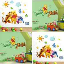 Winnie The Pooh Wall Decal 2 Piece Set Nursery Kids Wall Stickers, 2 Pooh Decals