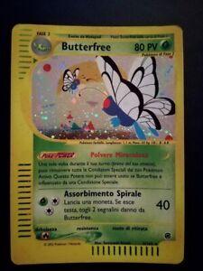 Pokemon Card BUTTERFREE 5/165 HOLO RARA - Expedition - ITA