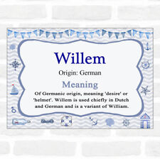 Willem Name Meaning Nautical Certificate
