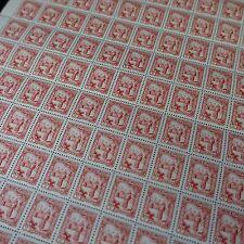 FEUILLE SHEET TUNISIE N°165 x100 PORTEUSE D'EAU 1931 NEUF ** LUXE MNH