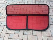 Rare !!! Red Audi A4 S4 Convertible Windscreen wind deflector Kit 2002-2012 OEM
