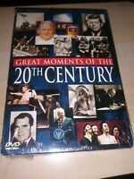 Great Moments of the 20th Century, COMPLETE 1900-2000 3 DVD 3 CASES NEW