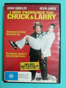 I Now Pronounce You Chuck And Larry DVD Adam Sandler Kevin James R4 RATED M VGC
