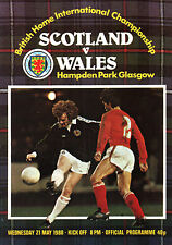 1979/80 Scotland v Wales, Home Championship, PERFECT CONDITION