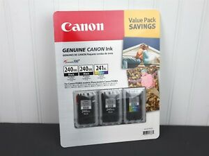 GENUINE Canon Value Pack 2x PG-240XXL Black & CL-241XL Color 5204B005 NEW SEALED