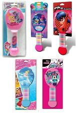 Kids Girls Hair Brush w/d Bobbles, Hair Brush w/d Comb Set Xmas Gift Set 3+y