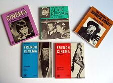 KONVOLUT * FILMBÜCHER - 5 Bücher je +170 S. 16x13,5cm 5 Books LOT English 1960s