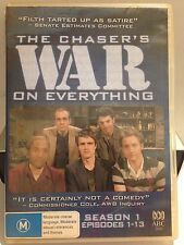 THE CHASER'S WAR ON EVERYTHING - SEASON 1 (EPI 1-13) (R4 - VERYGOOD) -2 DVD #178
