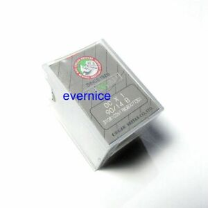 100 Pcs Organ Dcx1 Sewing Machine Needles For Overlock Babylock Brother Juki +