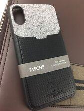 Santa Barbara POLO & RACQUET CLUB iPhone X/XS TPU/PU Case Design Tasche Noir