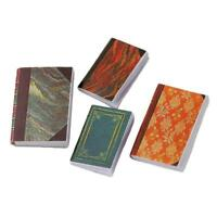 4 Pcs 1/12 Dollhouse Miniature Accessories Mini Books Simulation Notebook Models