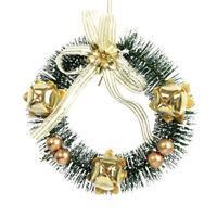 Jeanne d´Arc Weihnachtsglocken Girlande Schnur m.9 Glocken Bell L110 cm Shabby