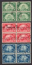 JL US SCOTT # 614-616 USED BLOCKS HARD TO FIND GEMS!!!!