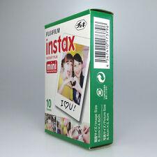 10 For Fujifilm Fuji Instax Mini Film White Sheet for 7 7s 8 10 20 25 50s 50i PS