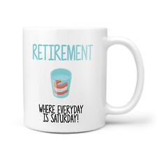 Funny Retirement Gift Mug - Leaving Presents for Work Colleague, Retiring Mugs