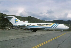 Aero Continent Boeing 727-51 OB-1588 At Cuzco (Peru) April 1998 Postcard