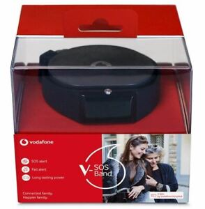 V-SOS Smart Band Watch with SOS Alert Button and Fall Detection Alert