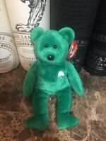 Ty Beanie Babies Erin The Bear Extremely Rare Perfect With Tags Errors