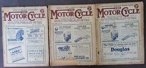 VINTAGE 1932 MOTOR CYCLE MOTORCYCLE MAGAZINES ANTIQUE BOOK JAMES DOUGLAS LUCAS