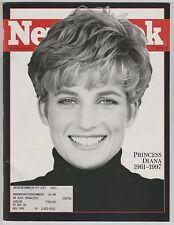 NEWSWEEK MAGAZINE PRINCESS DIANA 1961-1997 SEPTEMBER 8, 1997 NICE SHAPE!