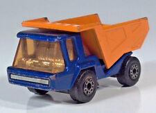 "Matchbox No23 Lesney Superfast Atlas Dump Tipper Truck 3"" Scale Model Blue"