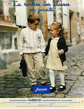 PUBLICITE ADVERTISING 025  1999  JACADI   vetements enfants