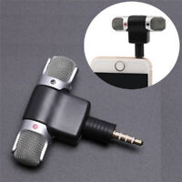Universal Mini Stereo Microphone Mic Audio For PC Laptop Notebook Talk 3.5mm GX