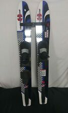 HYDROSLIDE WIDE TRACK JR 138-CM WATER-SKIS (Local pickup only)