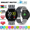 bluetooth Smart Watch Blood Pressure Monitor Bracelet Heart Rate Fitness Tracker